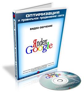 Видеокурс «Оптимизация и правильное продвижение сайта»