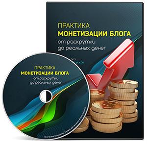 Видеокурс «Практика монетизации сайта»