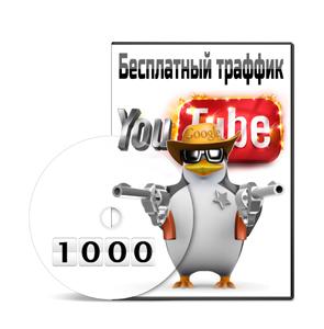 Курс «Как получить бесплатный целевой трафик с помощью Youtube»